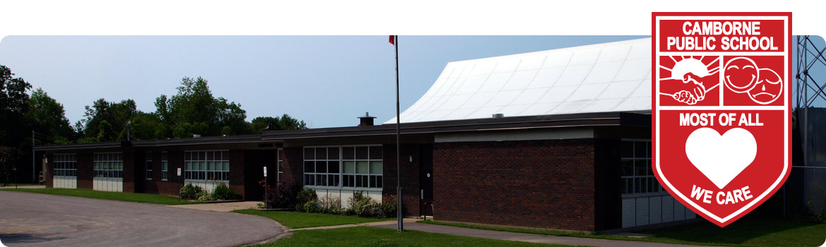 This is a picture of the front of the school building.